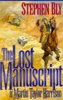 The Lost Manuscript of Martin Taylor Harrison
