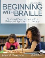 Image: Beginning With Braille