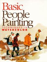 Basic People Painting Techniques in Watercolor