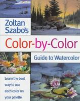 Zoltan Szabo's Color-by-color Guide To Watercolor
