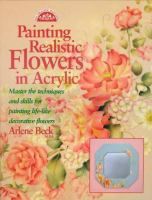 Painting Realistic Flowers in Acrylic