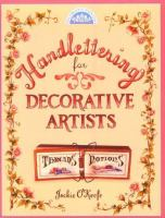 Handlettering for Decorative Artists
