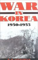 War in Korea, 1950-1953