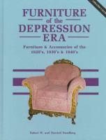 Furniture of the Depression Era