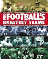 The Sporting News Selects Pro Football's Greatest Teams