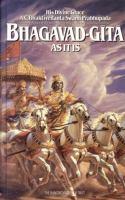 The Bhagavad-Gita as It Is