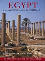 Egypt From Alexander to the Early Christians