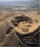 The Archaeology of Ancient Judea and Palestine