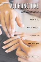 Acupuncture for Everyone