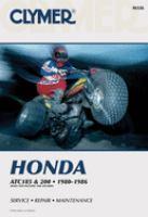 Honda ATC185 & 200, 1980-1986