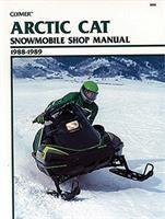 Clymer Arctic Cat Snowmobile Shop Manual, 1990-1998