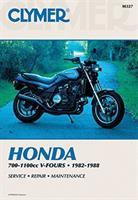 Honda 700-1100 Cc V-fours, 1982-1988