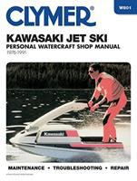 Clymer Kawasaki Jet Ski Shop Manual, 1976-1991