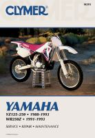 Yamaha YZ125-250, 1988-1993