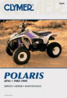 Clymer Polaris ATV Shop Manual