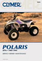 Clymer Polaris ATV Shop Manual