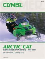 Clymer Arctic Cat Snowmobile Shop Manual 1990-1998