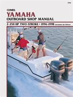 Clymer Yamaha Outboard Shop Manual, 2-250 HP Two-stroke, 1996-1998 (includes Jet Drives)