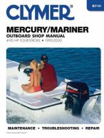 Clymer Mercury/Mariner Outboard Shop Manual