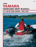 Clymer Yamaha Outboard Shop Manual