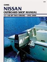 Clymer Nissan Outboard Shop Manual, 2.5-140 Hp Two-stroke, 1992-2000
