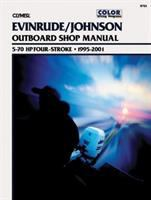 Evinrude/Johnson Four-stroke Outboard Shop Manual, 5-70 HP, 1995-2001