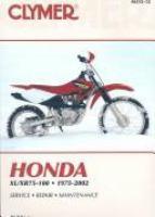 Clymer Honda XL/XR75-100, 1975-2002