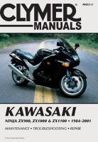 Clymer Kawasaki Ninja ZX900-1100, 1984-2001