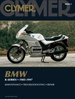 Clymer BMW K-series, 1985-1997
