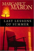 Last Lessons of Summer