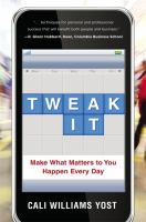 Tweak It