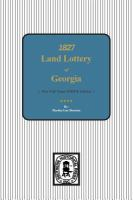 Reprint of Official Register of Land Lottery of Georgia, 1827