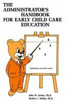 The Administrator's Handbook for Early Childhood Education