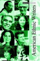 American Ethnic Writers