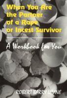 When You Are the Partner of A Rape or Incest Survivor
