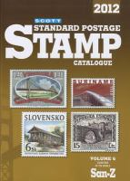 Scott 2012 Standard Postage Stamp Catalogue