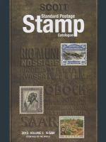 Scott Standard Postage Stamp Catalogue, 2015, Volume 5