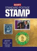 Scott 2017 Standard Postage Stamp Catalogue