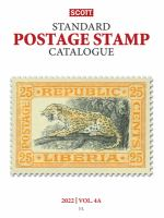 Scott 2022 Standard Postage Stamp Catalogue