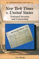 New York Times V. United States