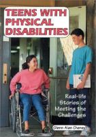 Teens With Physical Disabilities