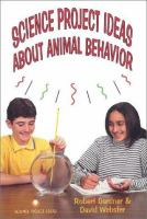 Science Project Ideas About Animal Behavior