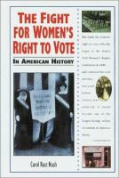 The Fight for Women's Right to Vote in American History