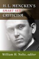 H.L. Mencken's Smart Set Criticism