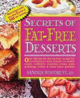 Secrets of Fat-free Desserts