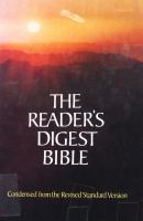 The Reader's Digest Bible
