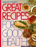 Great Recipes for Good Health