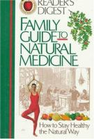 Family Guide to Natural Medicine