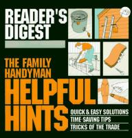 The Family Handyman Helpful Hints