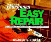 The Family Handyman Easy Repair
